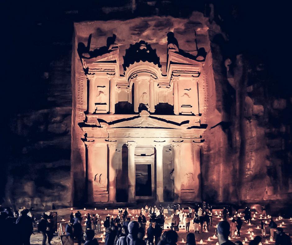 The Treasury at Night