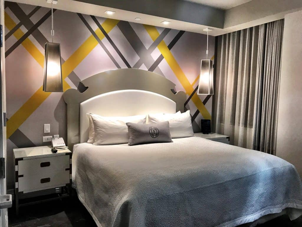 A room at the Elyton Hotel. Photo courtesy of Passports and Grub