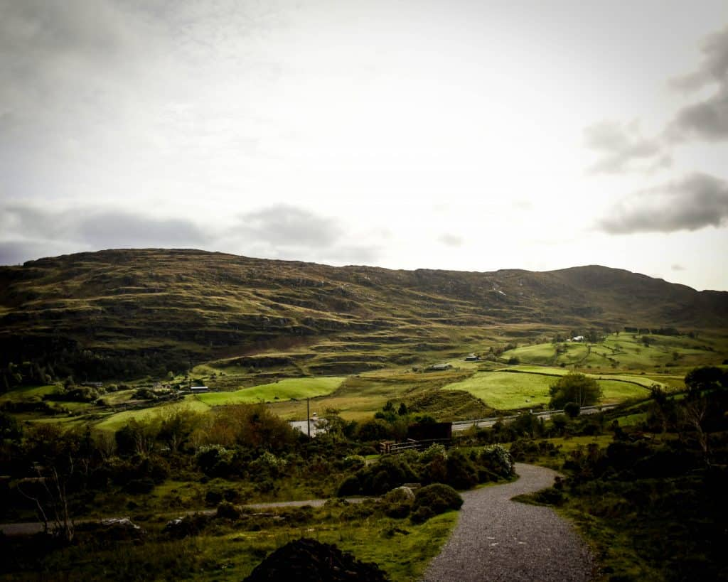Ireland - County Kerry - Kenmore - View from Molly Gallivans