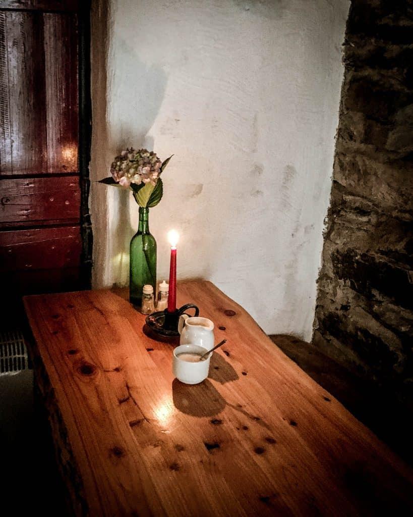 Enjoy traditional Irish fare