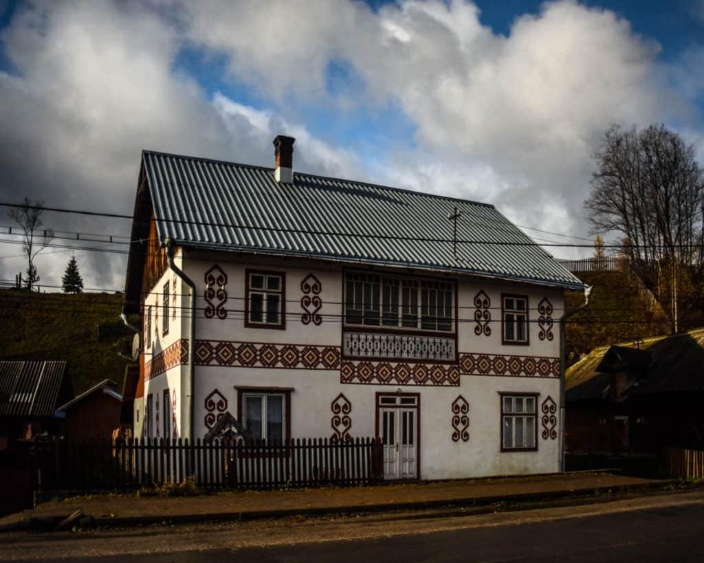 Ciocanesti Painted Houses