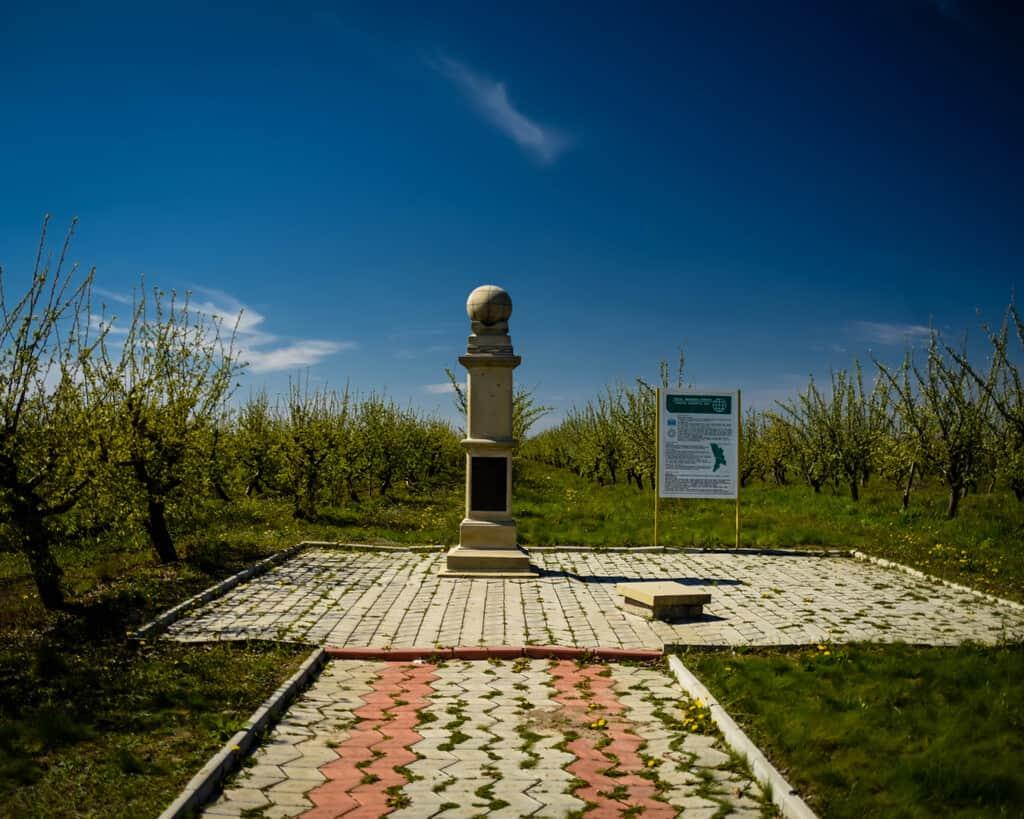 Moldova - Rudi - Struve Geodetic Arc in Rudy, Moldova