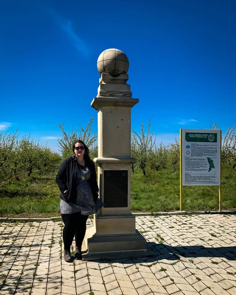 Success at the Struve Geodetic Arc in Rudy, Moldova