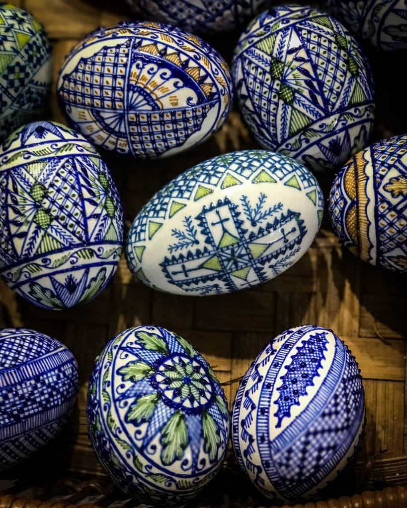 Painted Easter Eggs from Bucovina
