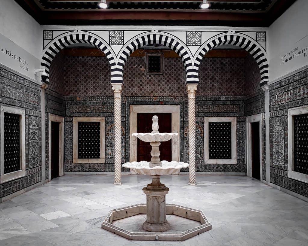 Tunisia - Tunis - The Harem in the Bardo Museum - Photos of Tunisia Historical Sites