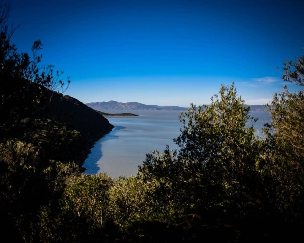 View of Lake Ichkeul - Photographs of Tunisia Historical Sites