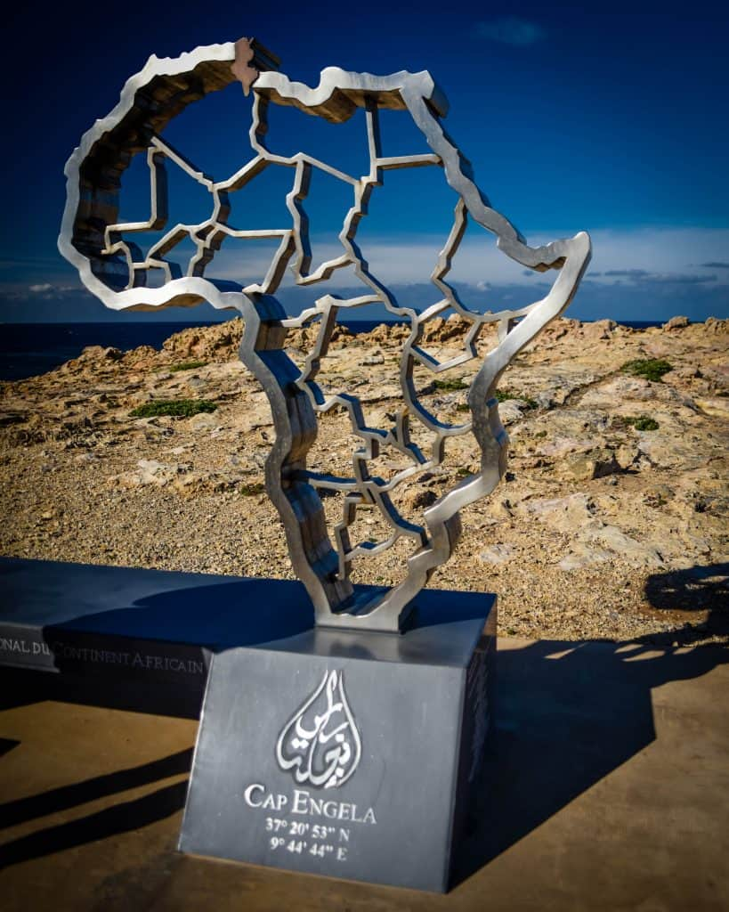 Cape Angela is the northernmost point in Africa - Photographs of Tunisia Historical Sites