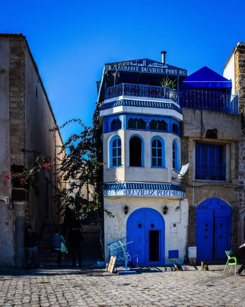 The entrances to the Bizerte Medina - Photographs of Tunisia Historical Sites