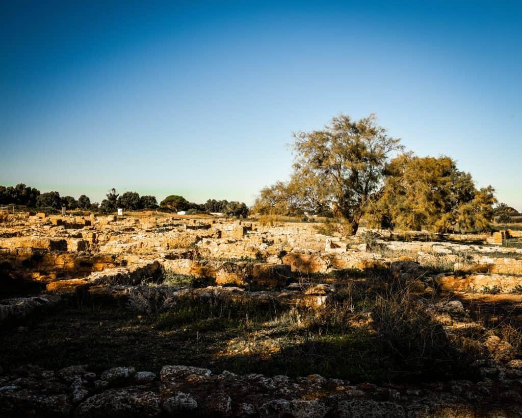 Inside the Punic City of Kerkuane - Photographs of Tunisia Historical Sites
