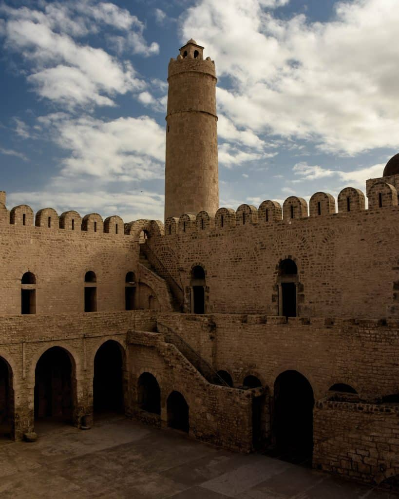 The Ribat at Sousse - Photographs of Tunisia Historical Sites