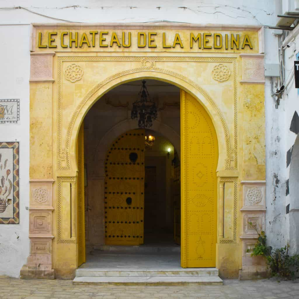 Of all the gorgeous doors in Tunisia, this one was my favorite. - Photographs of Tunisia Historical Sites