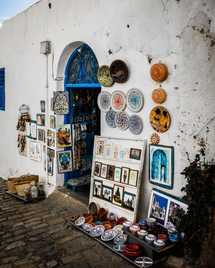 Sidi Bou Said - Photographs of Tunisia Historical Sites