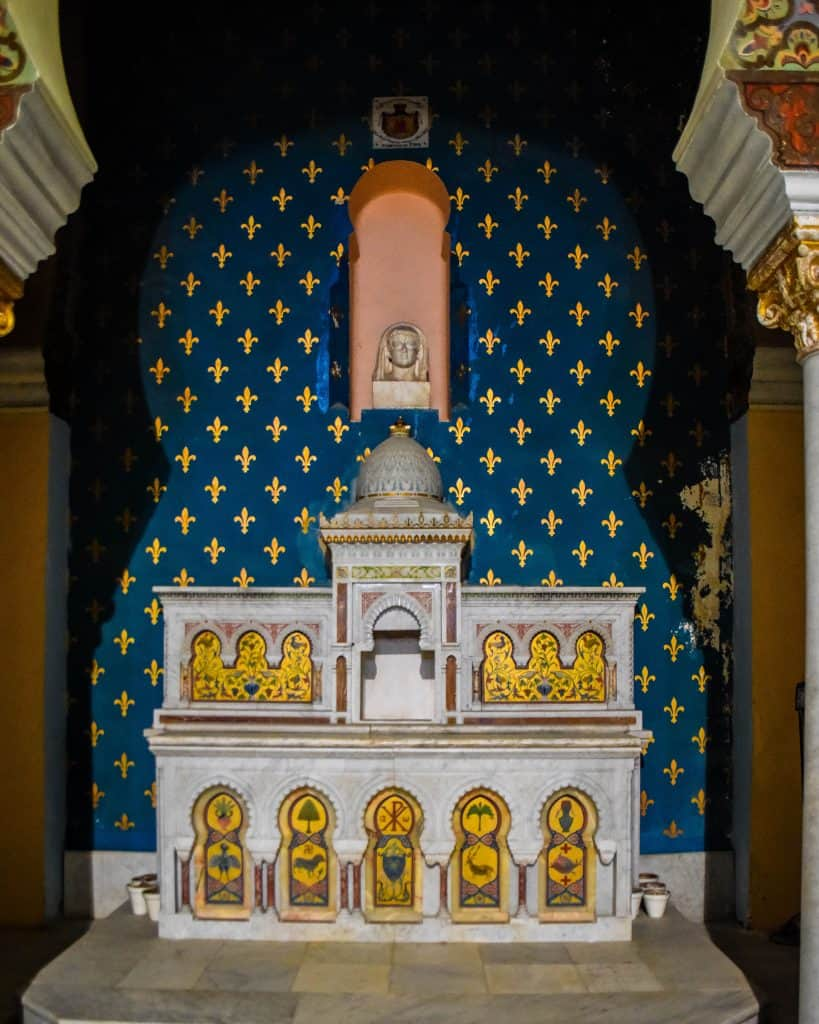 The altar of Saint Louis Cathedral - Photographs of Tunisia Historical Sites