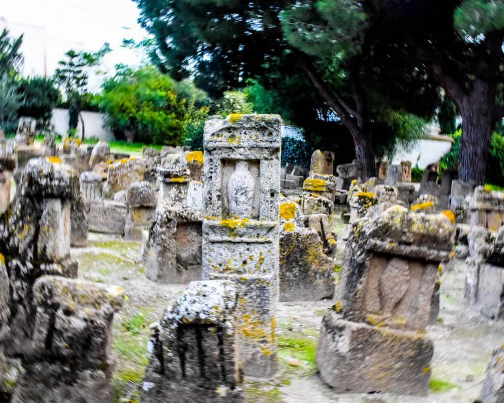 The famous Tophet of Carthage - Photographs of Tunisia Historical Sites