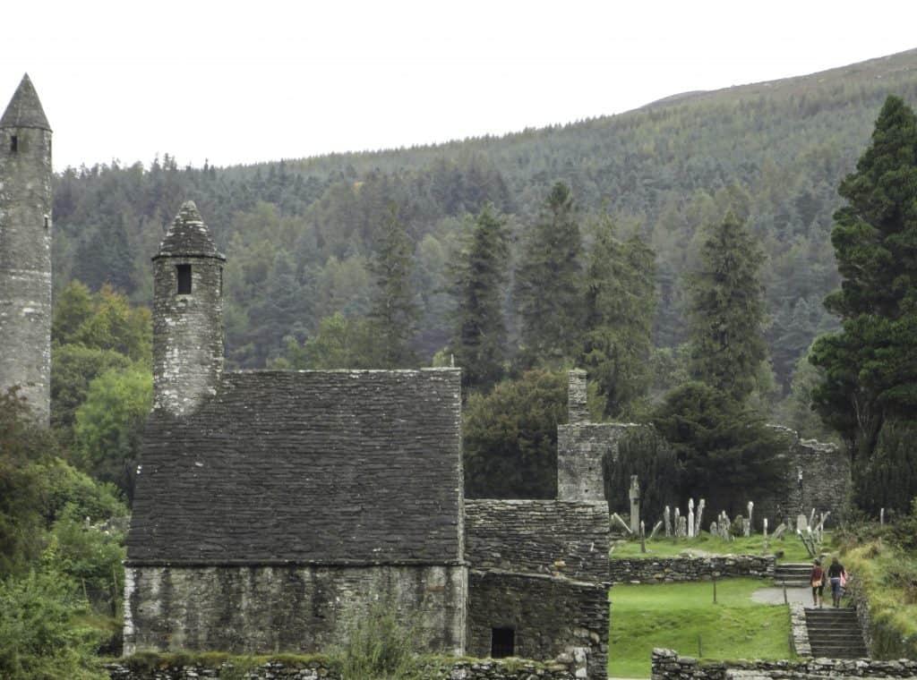 The Monastic Ruins of Glendalough