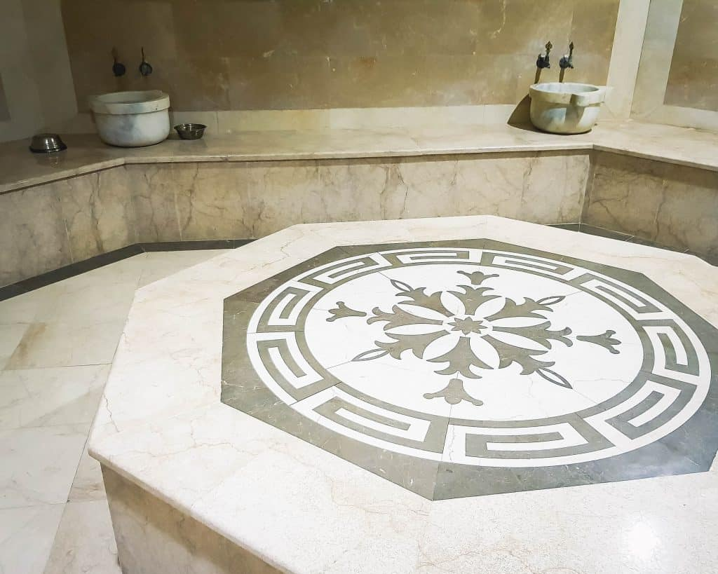 Azerbaijan - Nakhchivan - Turkish Bath at the Hotel Tabriz