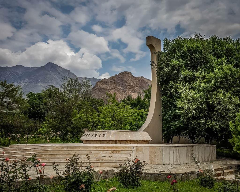 Azerbaijan - Ordubad - The World War II Memorial