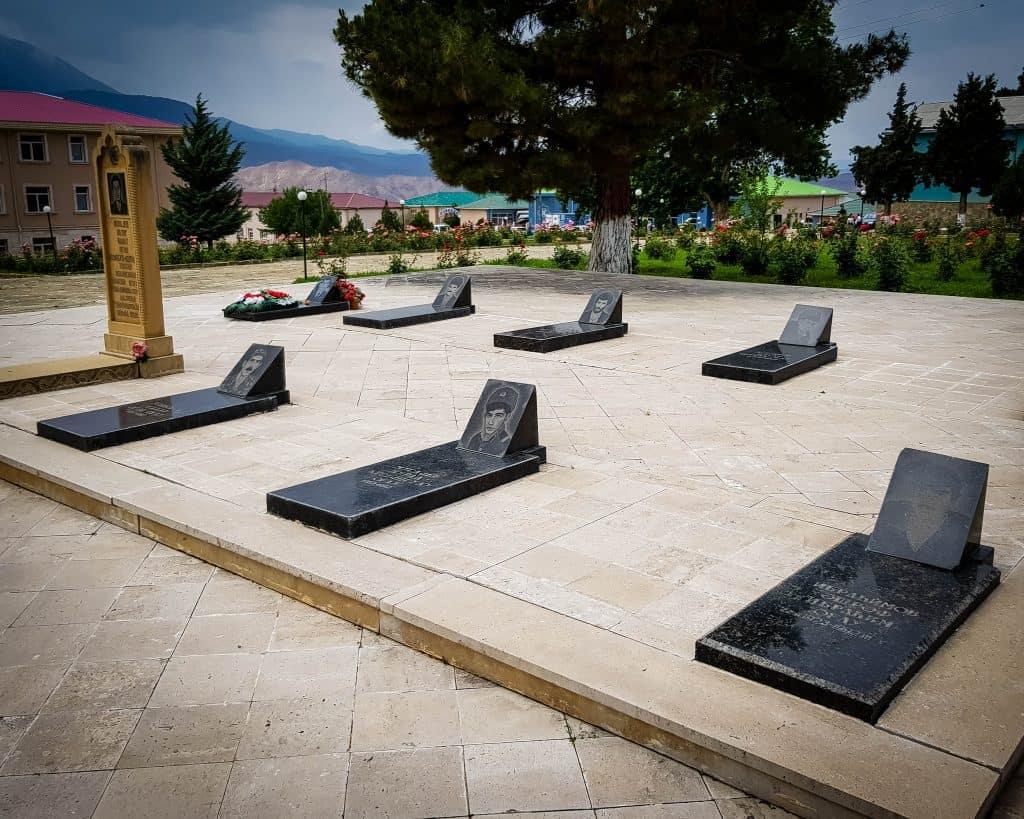 Azerbaijan - Ordubad - Grave from the Nagorno Karabakh War