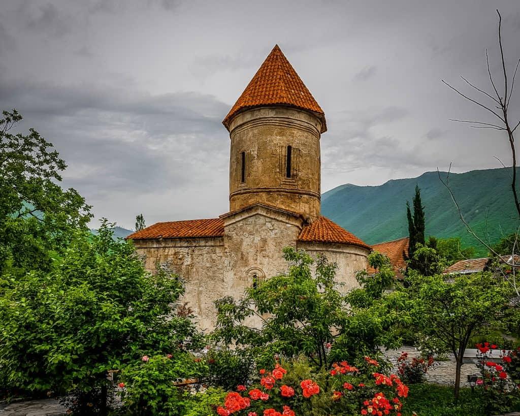 Azerbaijan -Sheki - The Church of Kish