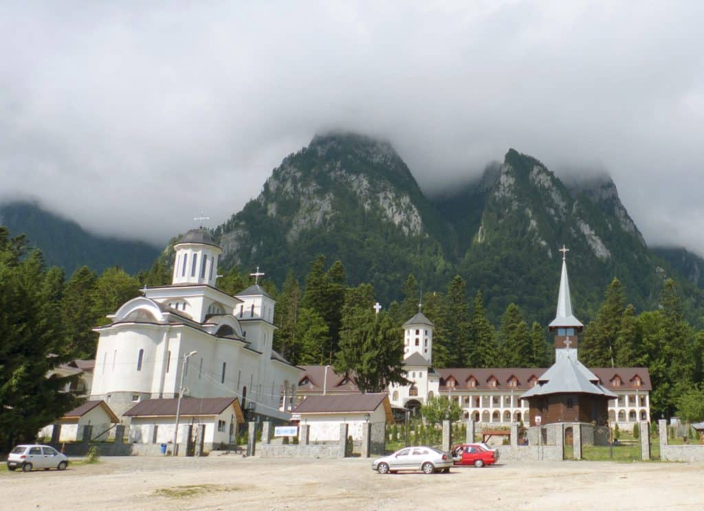 Romania - Busteni - Caraimon Monastery