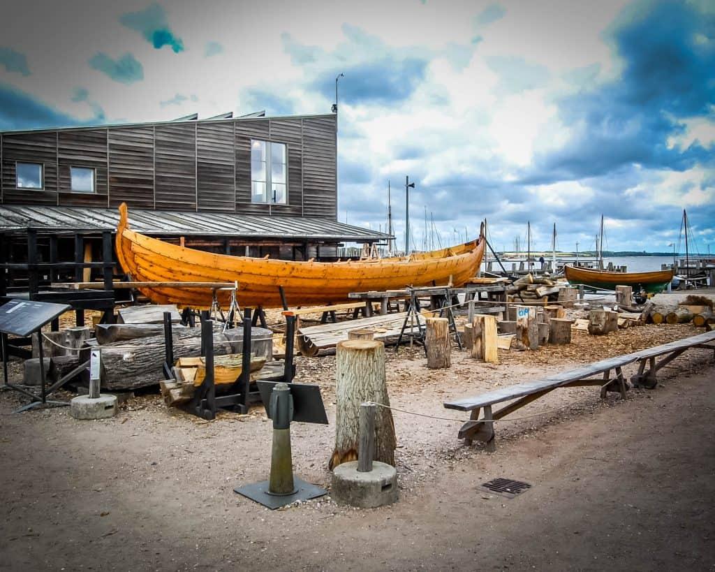Denmark - Roskilde - Viking Museum