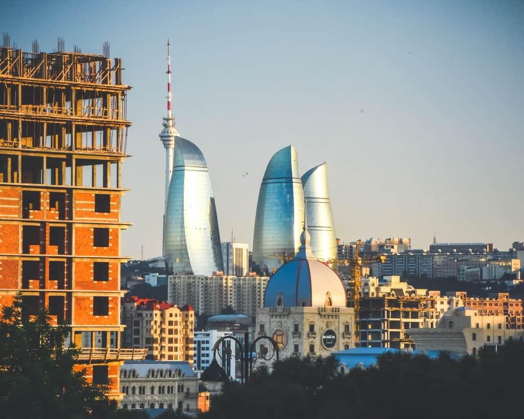 Azerbaijan - Baku - Flame Towers