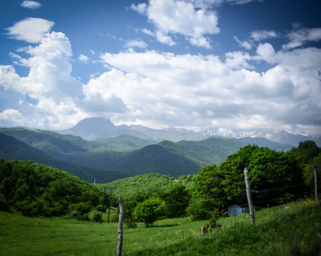 Azerbaijan - Ganja - Drive to Lake Goygol