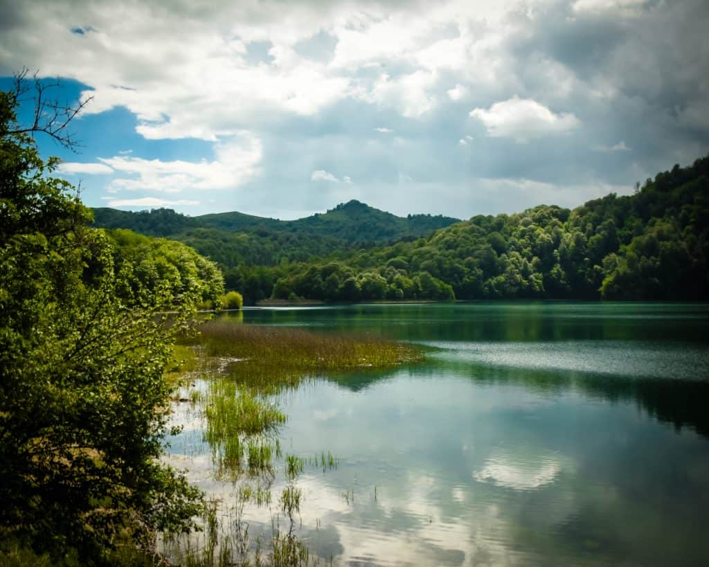 Azerbaijan - Ganja - Lake Goygol