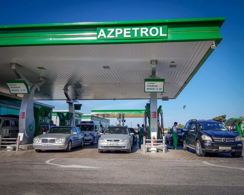 Azerbaijan - Baku - Petrol Station