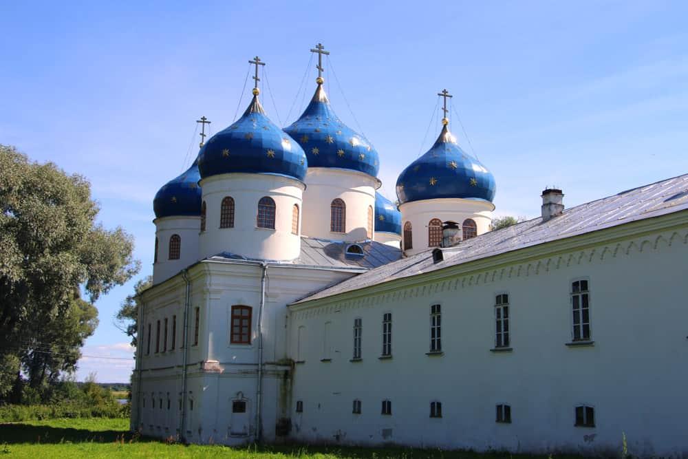 Russia - St. Petersburg - St. George's Monastery