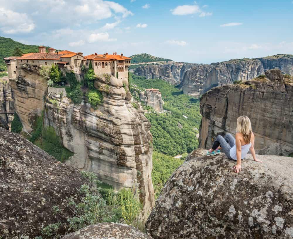 Greece - Meteora - Varlaam Monastery