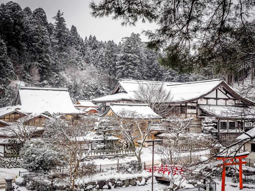 Sainan-in Temple, Koyasan. Photo credit by Nick Kembel. Used with permission.