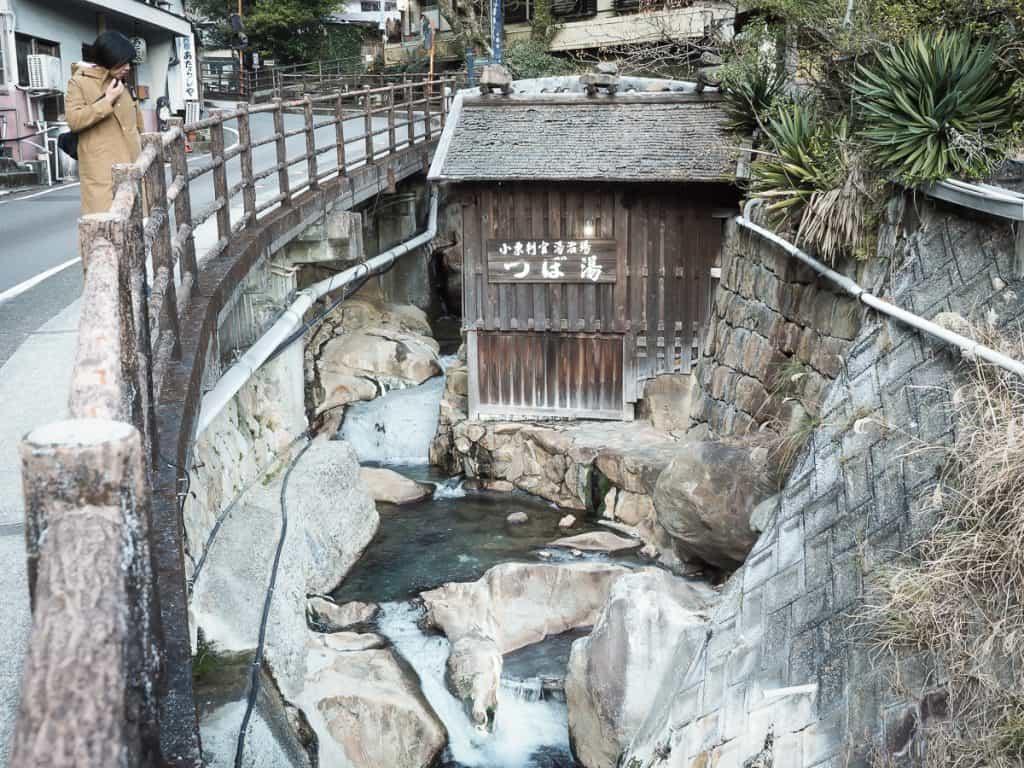 Tsuboyu onsen (hot spring), Yunomine, Japan