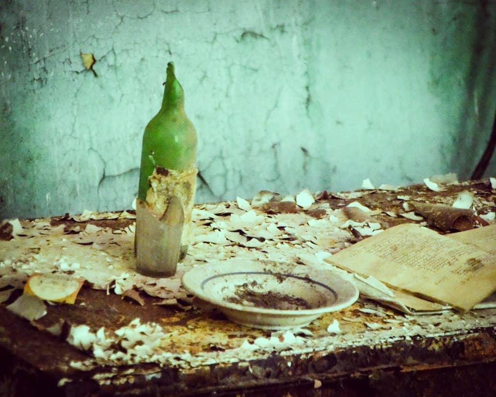 Ukraine - Chernobyl - Glass