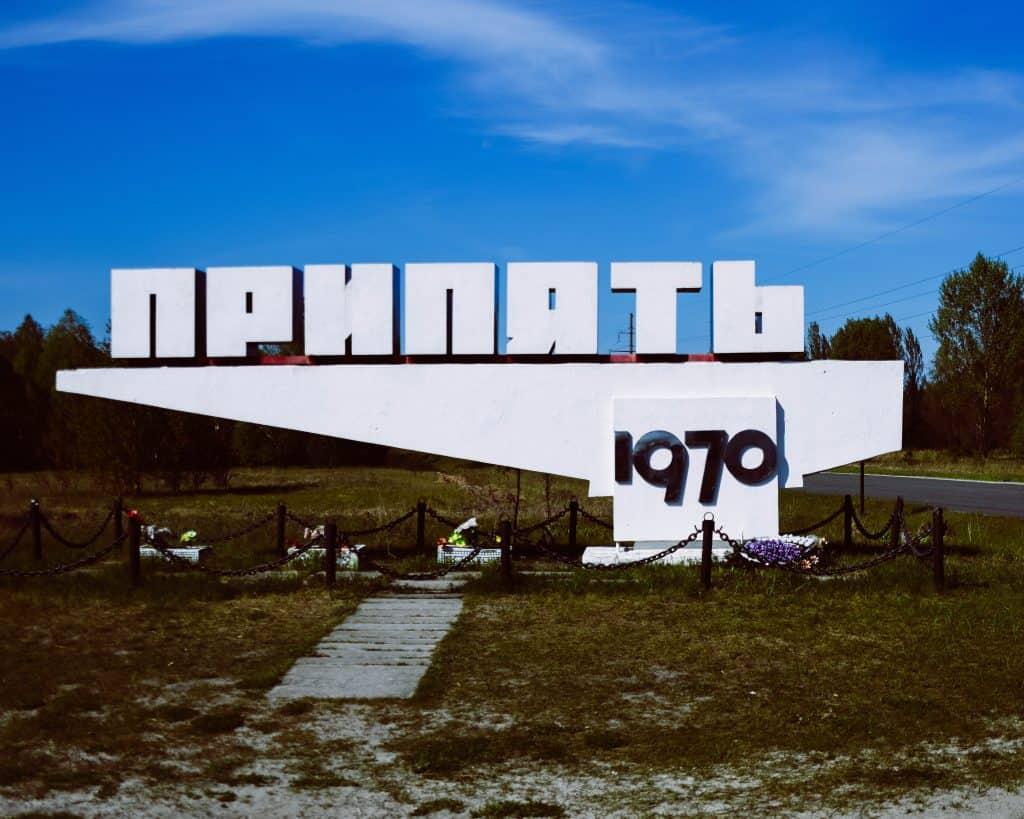 Ukraine - Chernobyl - Pripyat Sign