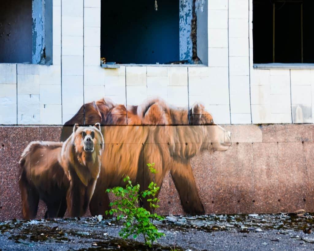 Ukraine - Chernobyl - Pripyat Artwork