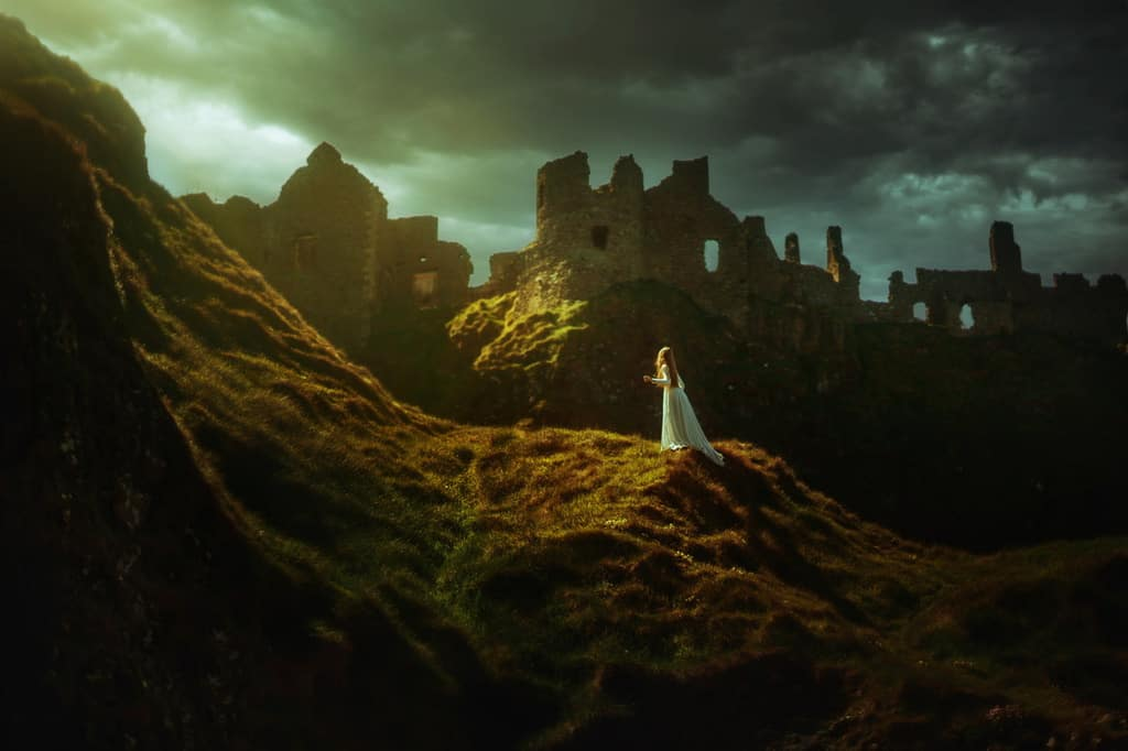 Dunluce Castle. Photo by Terrence J. Drysdale. Reused with Permission.