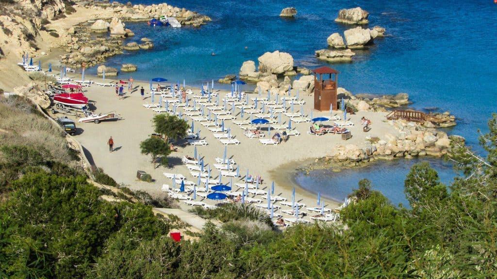 Cyprus - Agia Napa - Konnos Bay - Pixabay