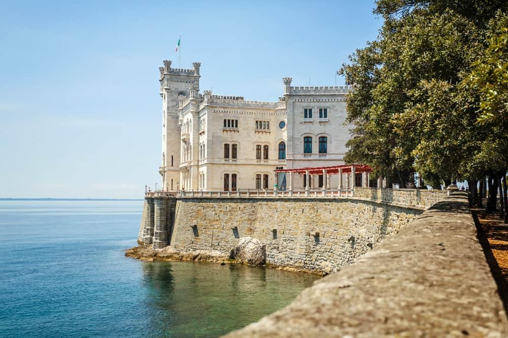 Miramare Castle, Trieste, Italy, Europe