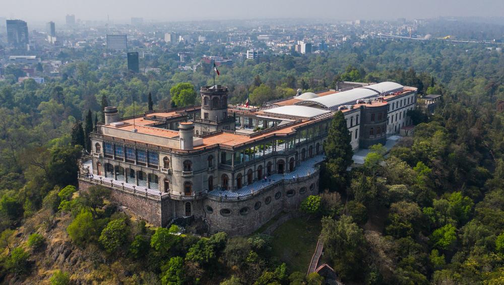 Chapultepec Castle (Castillo de Chapultepec) Mexico City Mexico