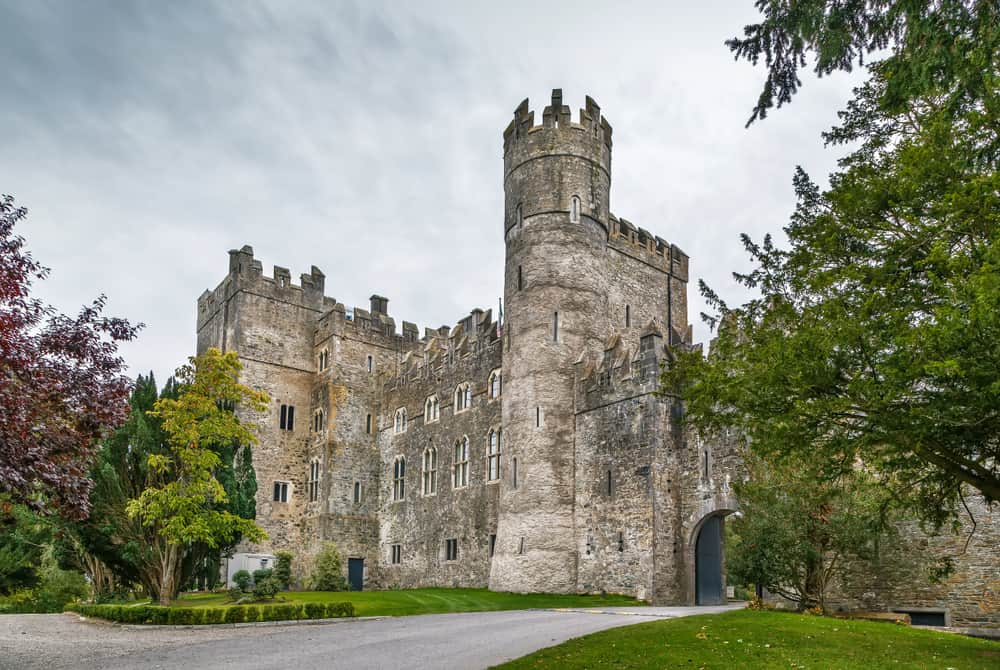 Kilkea Castle is a medieval stronghold near the village of Kilkea, Ireland