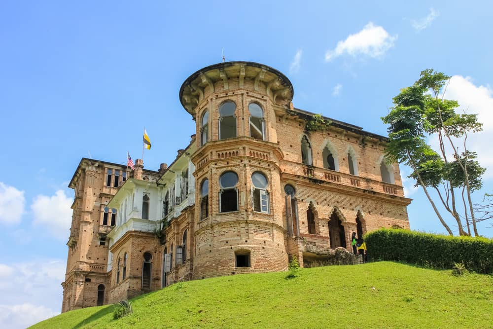 Kellie's Castle is a castle located in Batu Gajah, Kinta District, Perak, Malaysia. The unfinished and ruined mansion, was built by a Scottish planter named William Kellie-Smith.