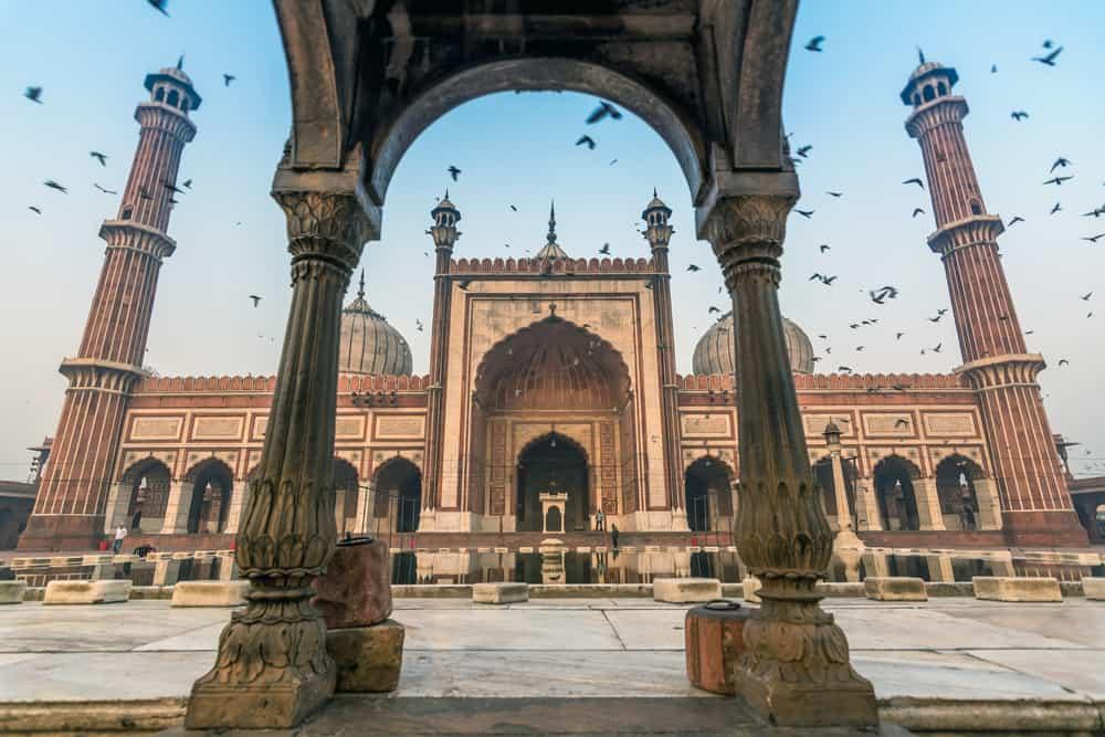 Jama Masjid, Old Delhi, India