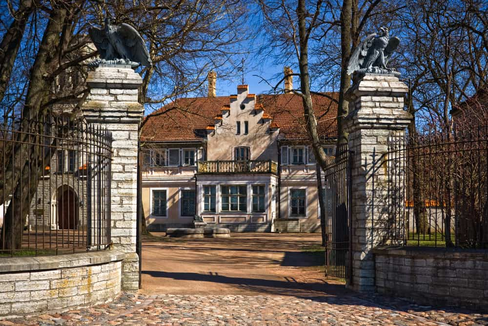 Maarjamae Castle in Tallinn. Now used as part of The Estonian History Museum