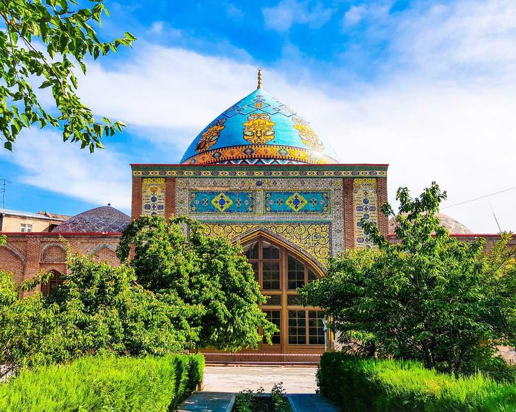 Armenia - Yerevan - Blue Mosque