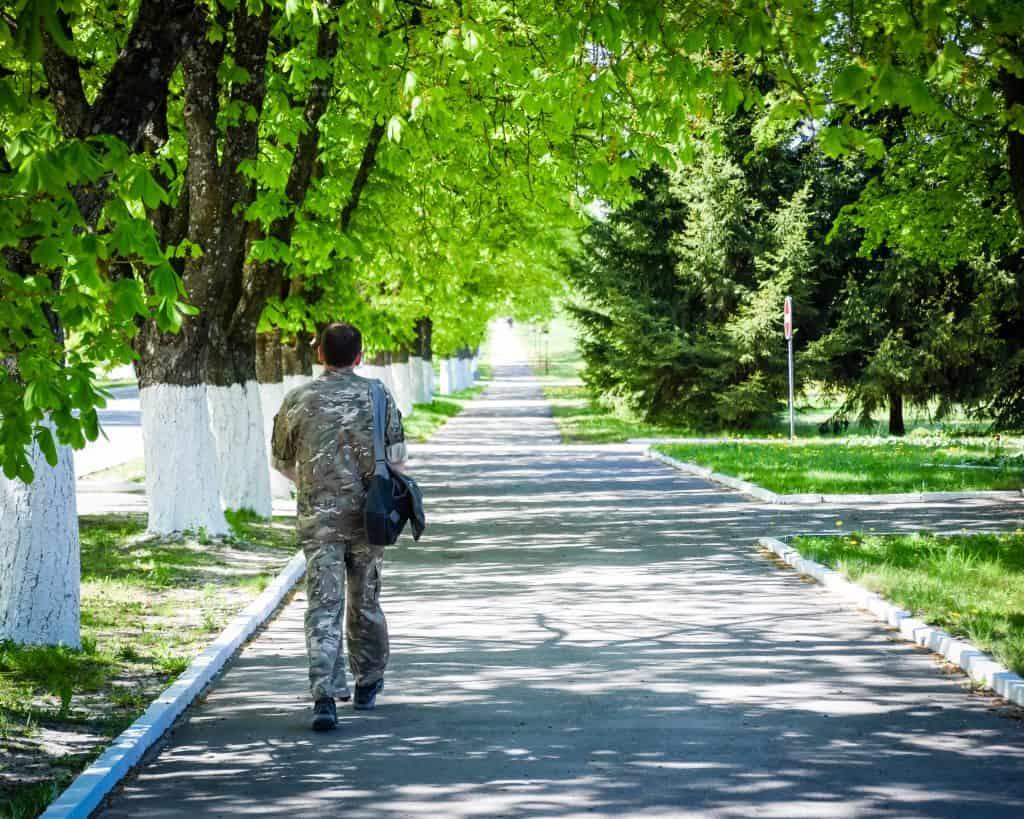Chernobyl - Ukraine - Soldier