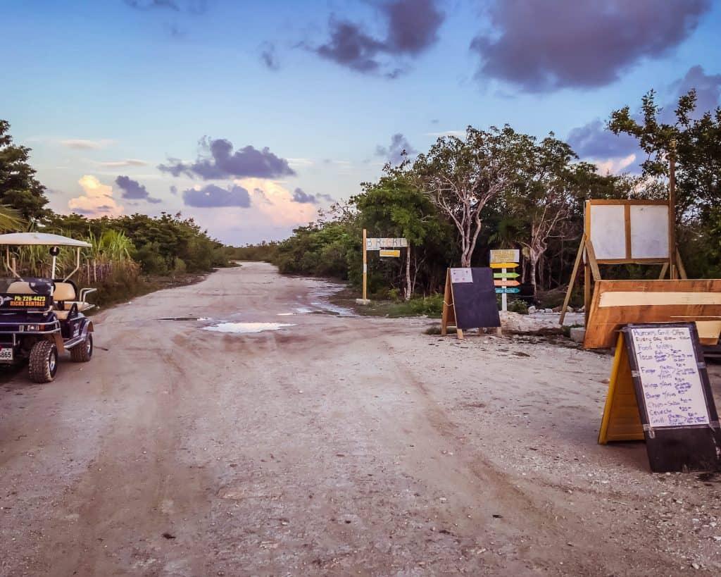 Belize - Ambergris Caye - Secret Beach