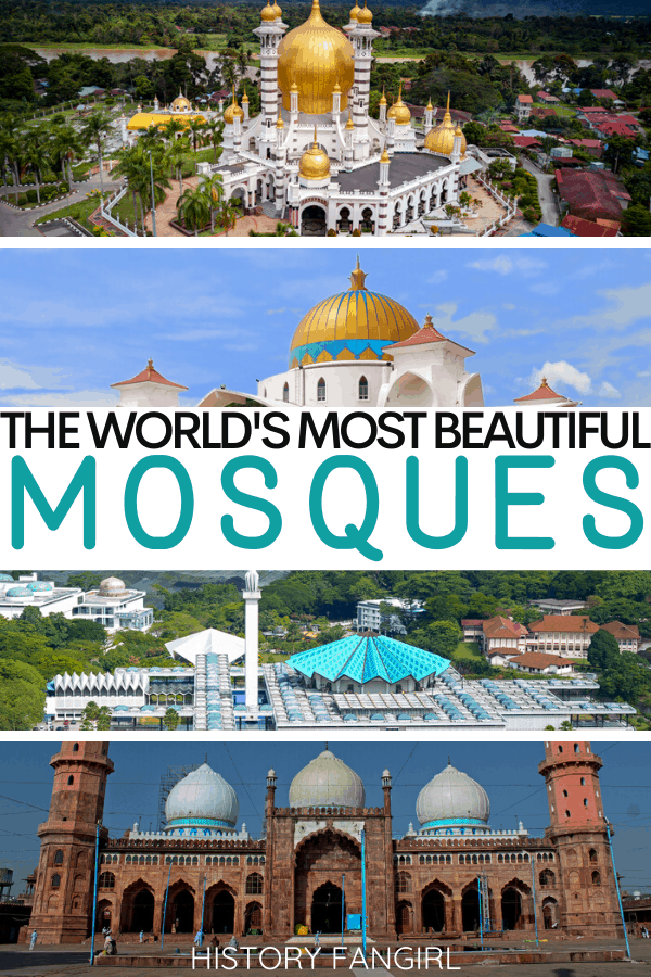 Most Beautiful Mosques in the World and Beautiful Pictures of Mosques