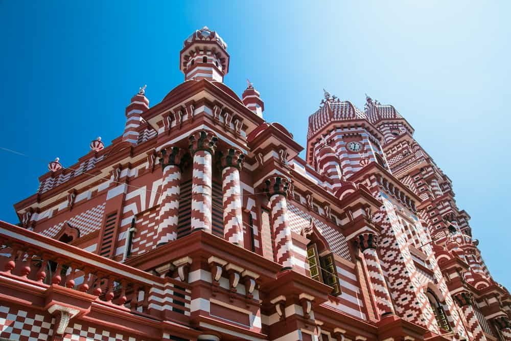 Jami-Ul-Alfar Mosque or Red Masjid Mosque is a historic mosque in Colombo capital of Sri Lanka