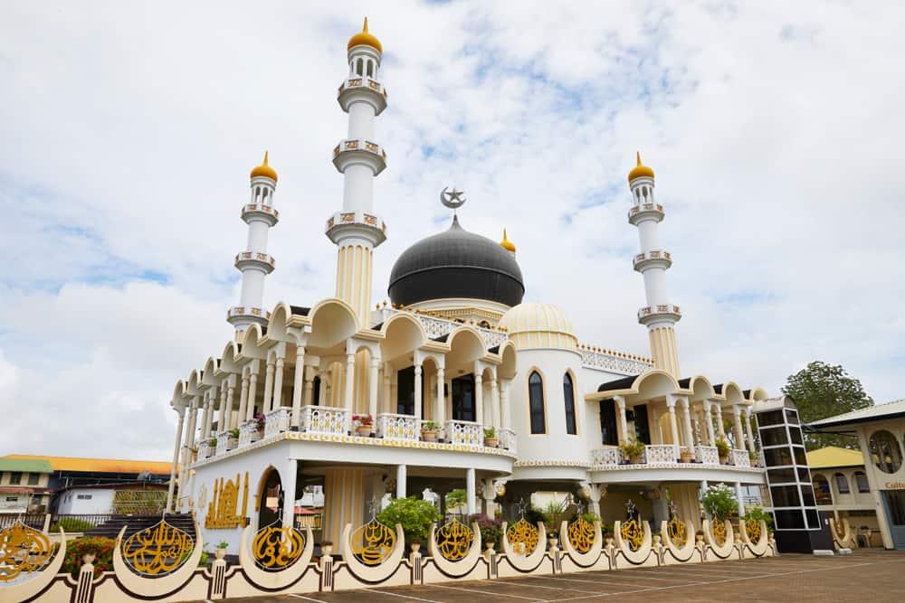 Mosque 'Keizerstraat' of Paramaribo, Suriname, South-America